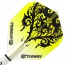 Target Vision Flights No6 Floral Yellow/Black