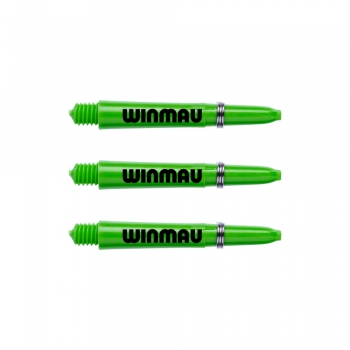 Winmau  Signature Nylon Shafts Grün Kurz Short