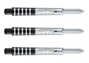 Winmau Prism Force Schäfte Intermediate Transparent