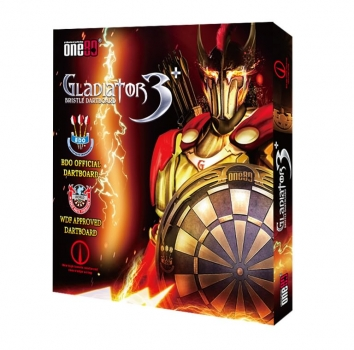 One80 Gladiator 3 Dartboard BDO Version