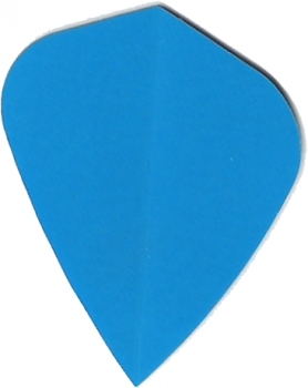 Poly Flights Kite Blau