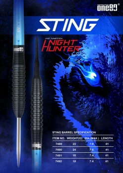 Night Hunter Sting Softip 18 Gramm Barrelgewicht