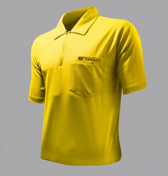 Coolplay Shirt Target Dart Polo Gelb Yellow