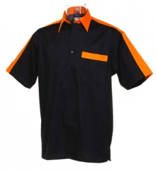 Darthemd TEAM SHIRT Kustom Kit Dart Shirt KK175 Größe M