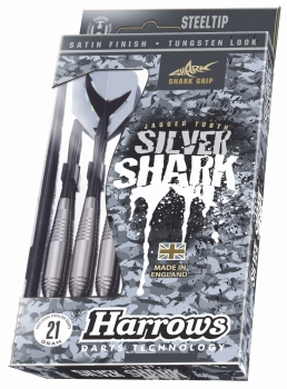Harrows Silver Shark Steeldart 24g