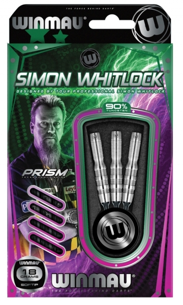 Winmau Simon Whitlock 90% Tungsten Softdart 18g