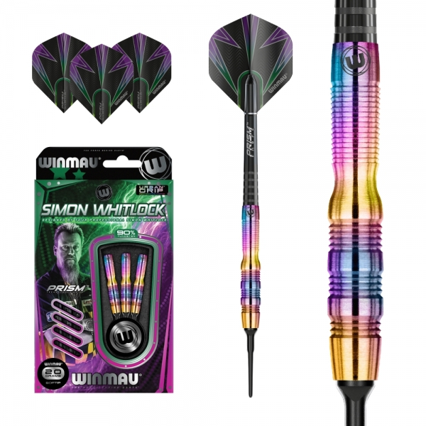 Winmau Simon Whitlock 90% Tungsten Urban Grip Softdart 20g