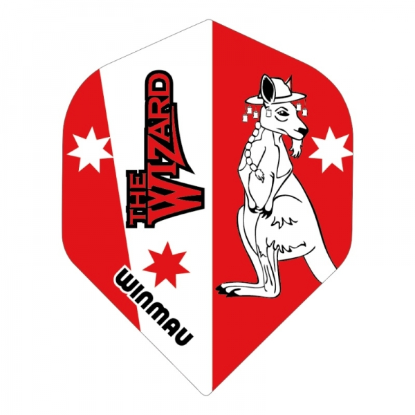 Winmau Simon Whitlock Rhino Flight Red