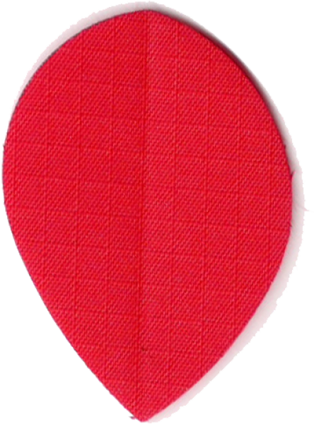 Nylon Long Life Stoff Flights Pear Rot