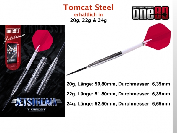 One80  Tomcat  Jetstream Steeldart 20 Gramm